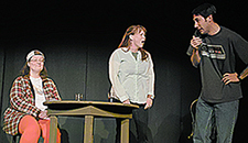 Photo of cast of Playing God